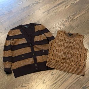 St John 2 piece sweater set